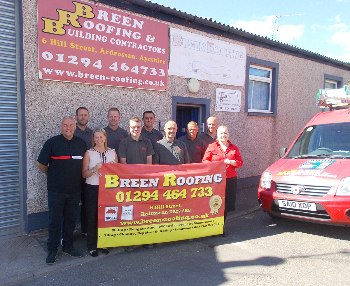Breen Roofing Team