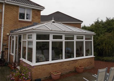 Conservatory Roof in Kilwinning - Before
