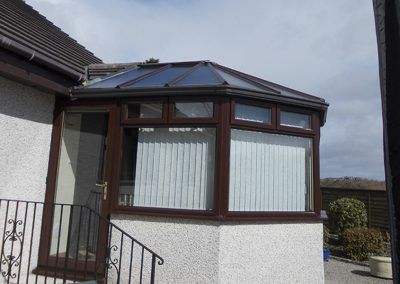 Conservatory Roof in Kilbirnie - Before